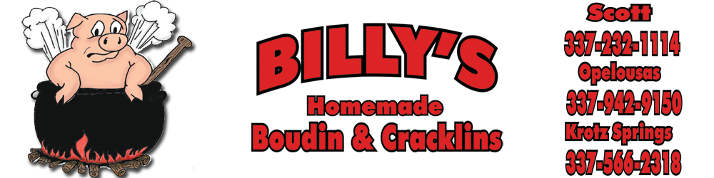 Billy's Boudin & Cracklin
