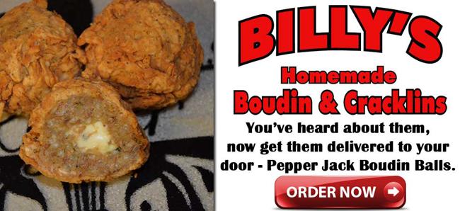 Boudin - Cracklin - Boudin Balls, Billy's Homeade Boudin and Cracklins, Louisiana